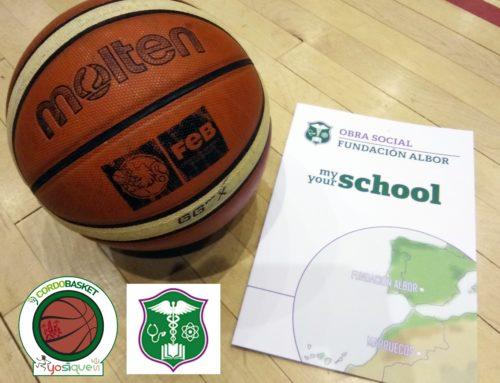 """+qBasket: Proyecto """"My school, Your School"""" de la Fundación Albor"""